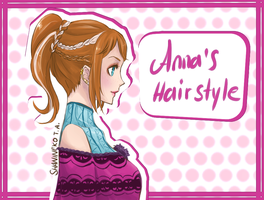 Anna's Hairstyle by ShaniNeko