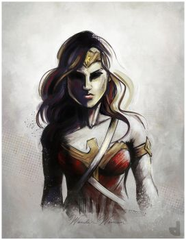 Wonder Woman by Area-44