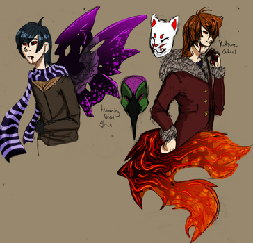 Tokyo Ghoul themed adopts CLOSED by wolf-wishes