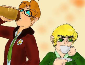 I Can't Believe He Drinks That Crap. by SaintsSister47