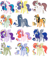 Random MLP ships adopts - 0\12 - CLOSED by JennyHalvors