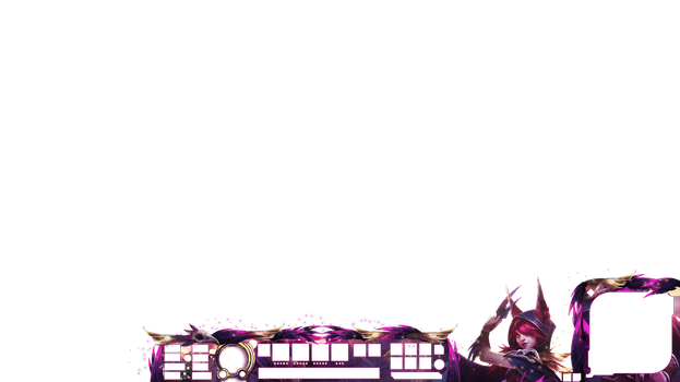 League of legends Overlay - XAYAH OVERLAY by h4nabi