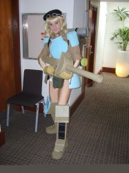 Minami-crossplay-mecha-soldier by highlord24