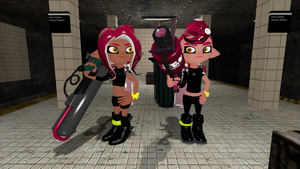Agent 8a and b: Favored Weapons by bravebravesirbrian