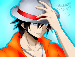 Fairy Tail Gray Fullbuster by BeeeesArt