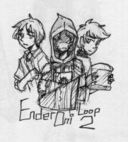EnderOni Loop Two Preview by MotherofOnity