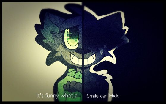 It's funny what a smile can HiDe by Blueberrythehusk