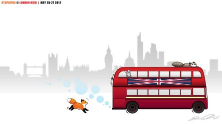 StupidFox - London by eychanchan
