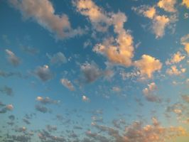 Dawn Cloudy Sky - 32A by HermitCrabStock