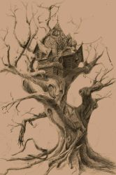 Baba-Yaga house by DodgeMecha