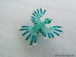 Beaded phoenix by EstonianBeads