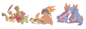 Johto Starters Commission