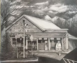 williamsburg general store, williamsburg, mass by juliegoldman