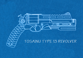 Shadow Warrior Tosainu Type 13 Revolver by GourmetGamer