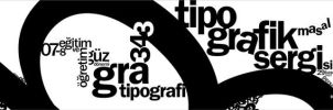 typographic exhibition by e-keen