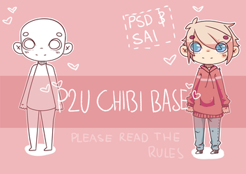 P2U Chibi Base by ObviouslyOmi