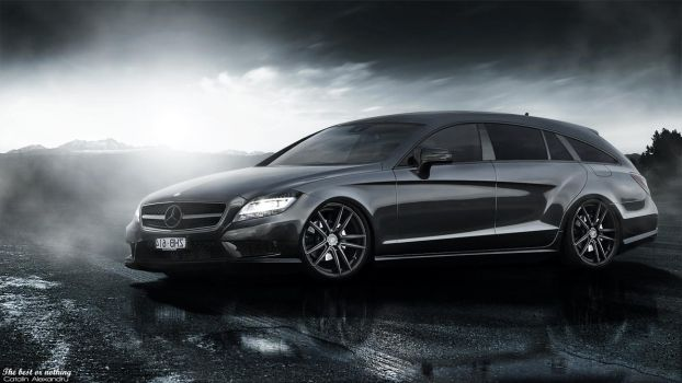 Mercedes-Benz CLS350 Shooting Brake by cobraromania