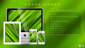 Leafy Green by BenSow