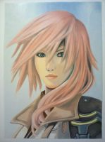 Lightning Final Fantasy by ChriStormX10