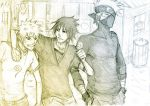 just us boys by Sanzo-Sinclaire