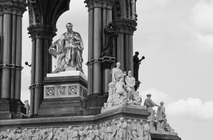 Albert Memorial detail by UdoChristmann
