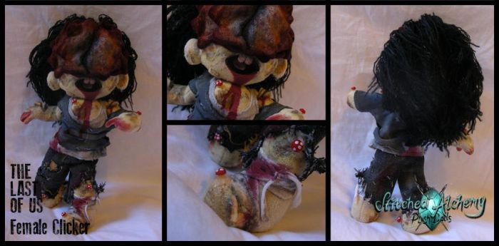 The Last of Us: Female Clicker by StitchedAlchemy