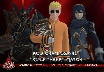 Bad Blood 2018 - Triple Threat Match by JoeyTribbiani125