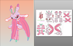Lurantis Papercraft + Download Link