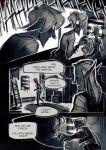 Perish - comic page test by Kinnebrand