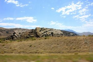 On the Road in Wyoming by Shocked62