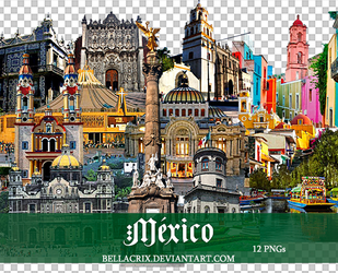 Mexico PNGs by Bellacrix
