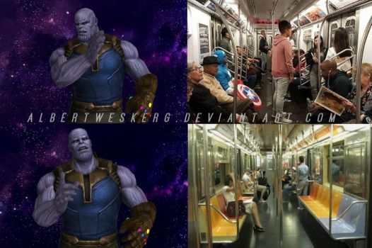 Thanos Meme: A perfect Balance! by AlbertWeskerG