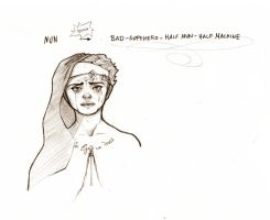 Nun Chalante Scribble by Magermost