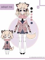 Pastel Kemonomimi adoptable CLOSED by AS-Adoptables