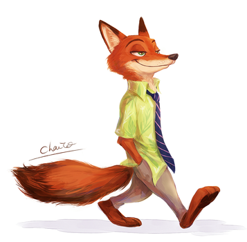 Nick Wilde by chacckco