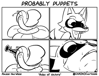 Probably Puppets - Rules of Nature by CHAOKOCartoons