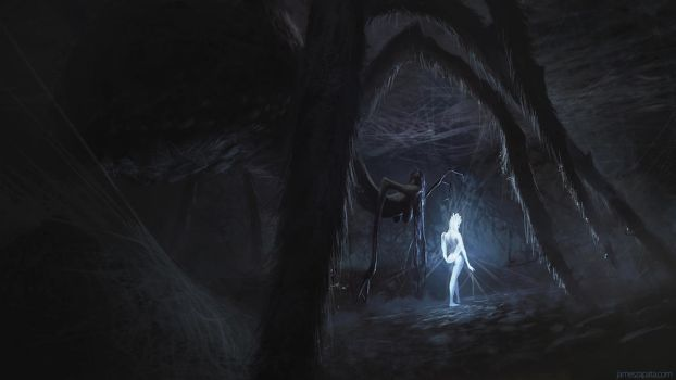In Her Lair by jameszapata