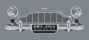 Aston Martin DB5 With Modifications by meitme