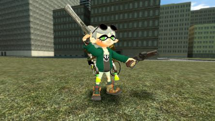 Lightwolf (Squid Sister Marie Ver) by Lightwolfx122