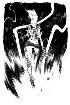 Punk Storm Commission by JeffStokely