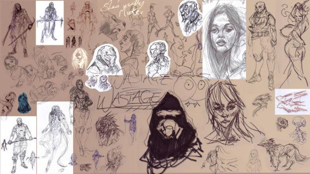 Scribble Bomb Part 3.1 by AdrianNagorski