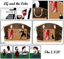 LG and the Coke by Silvia1826