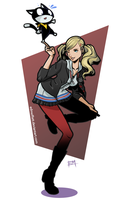 Ann and Morgana by EdMoffatt