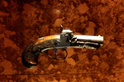 The Gun That Took Lincoln's Life by EReetz-Photo