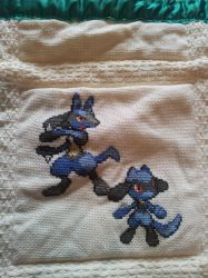 Pokemon quilt cross stitch - Square 2 by cardinalchang
