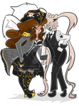 Gaiaonline - Bonny Lass Minty and Israphal