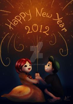 Happy New Year 2012 by melimey