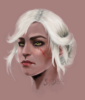 Ciri of Cintra by kisusie