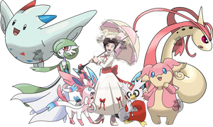 Mary Poppins - Pokemon Team by Tails19950