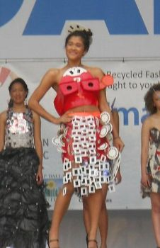 Earth Day 2011 garment by AOZcouture